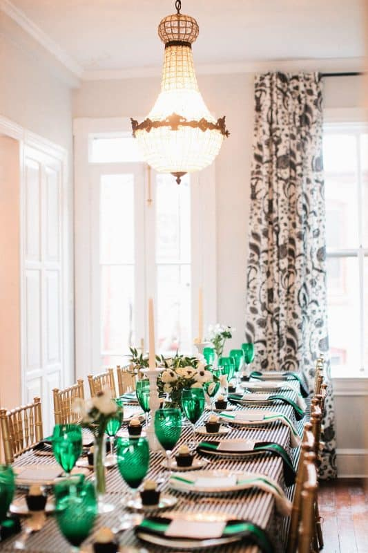 Emerald-Green-Tablescape