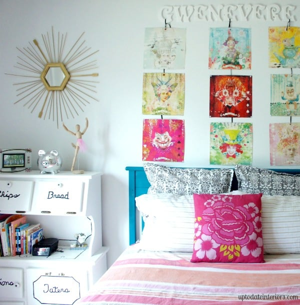 cheap wall art idea