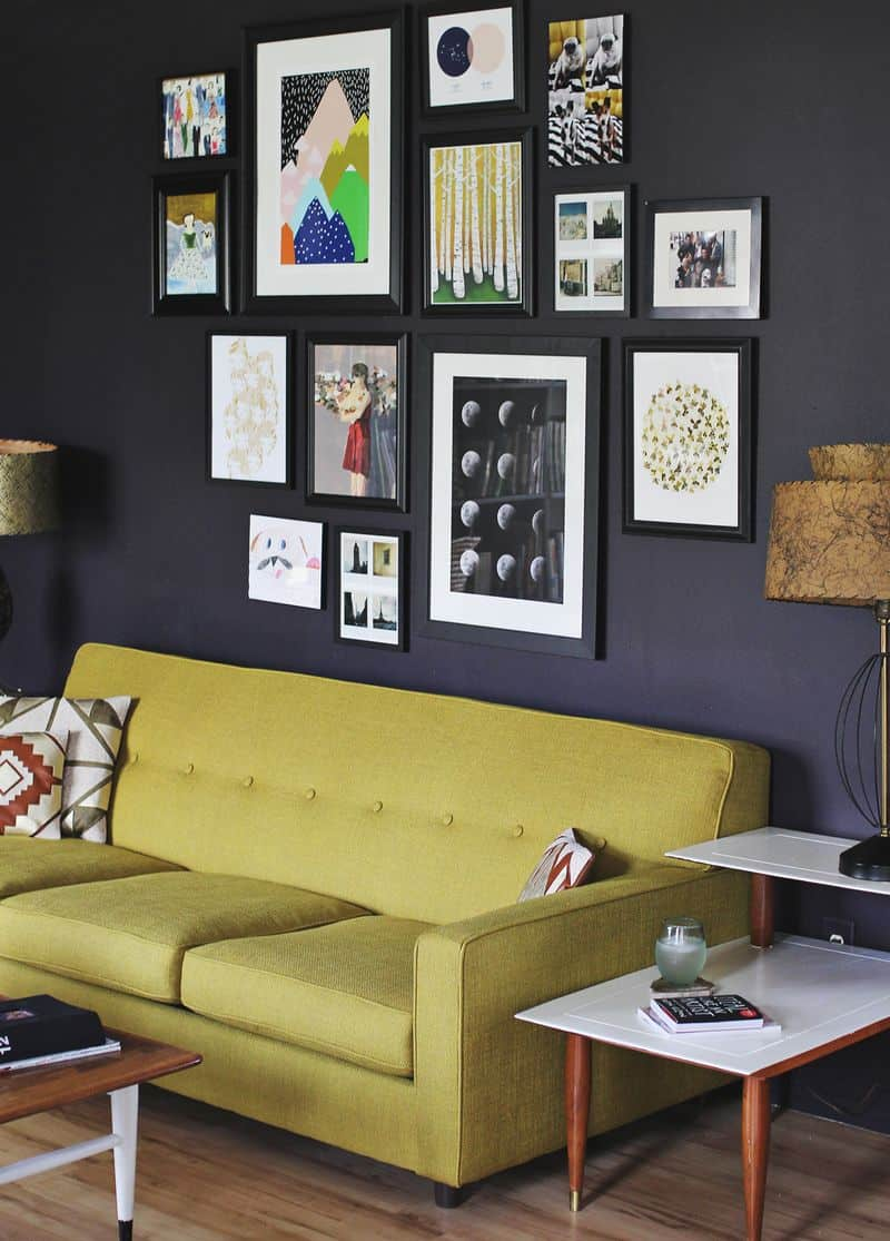 Wall Galleries Tips and Tricks   Up to Date Interiors