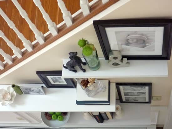 decorate-style-floating-shelves-under-stairs