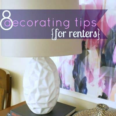 Eight Tips for Renters