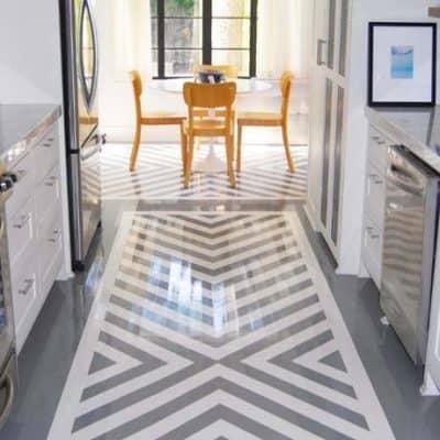 Twelve Beautiful Painted Floors