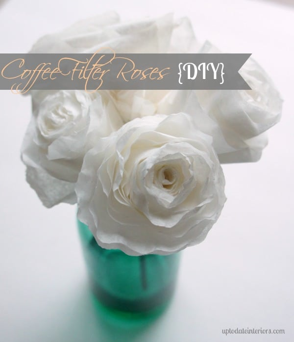 The best way to make coffee filter roses with step by step pictures mightylinksfo