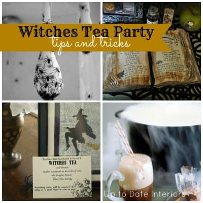 Witches Tea Party: Tricks and Tips