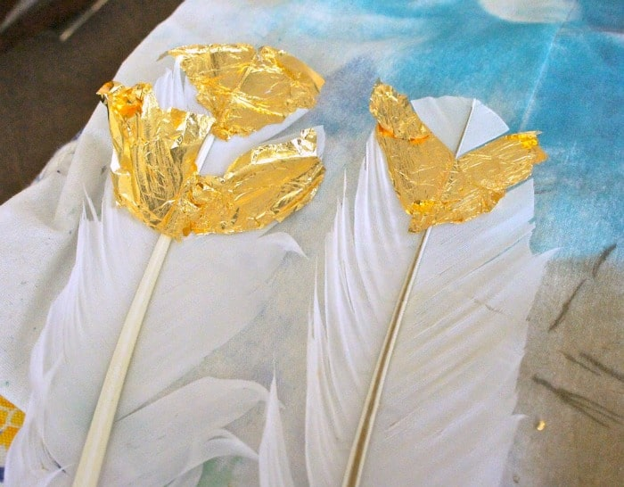 gilding-feathers