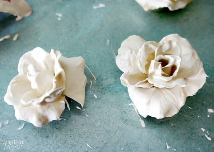 Plaster Flowers 3