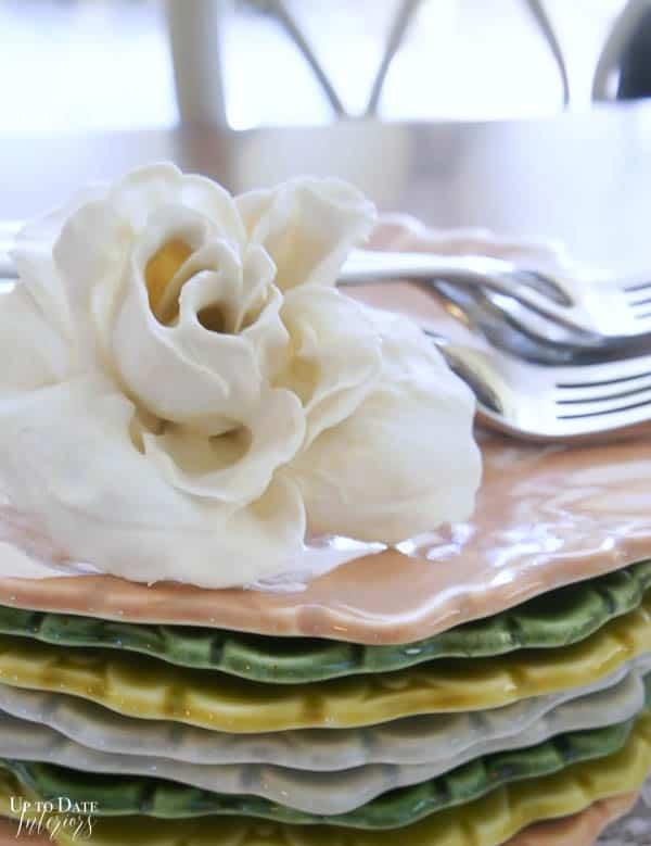 Plaster Flowers 4