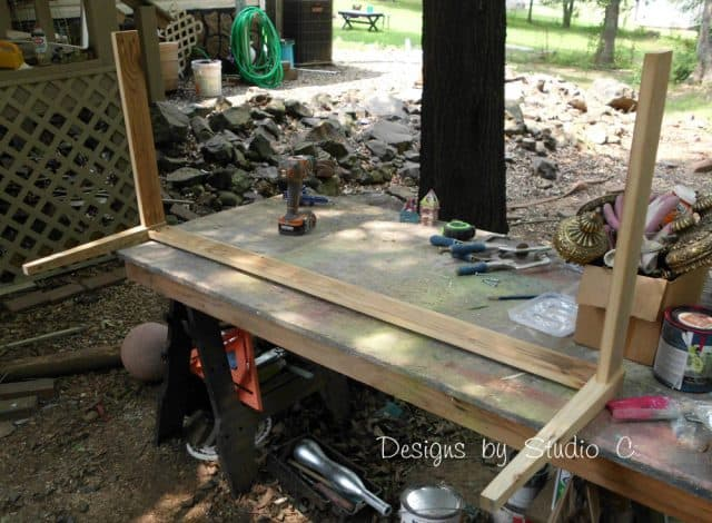 Bench From Old Headboard
