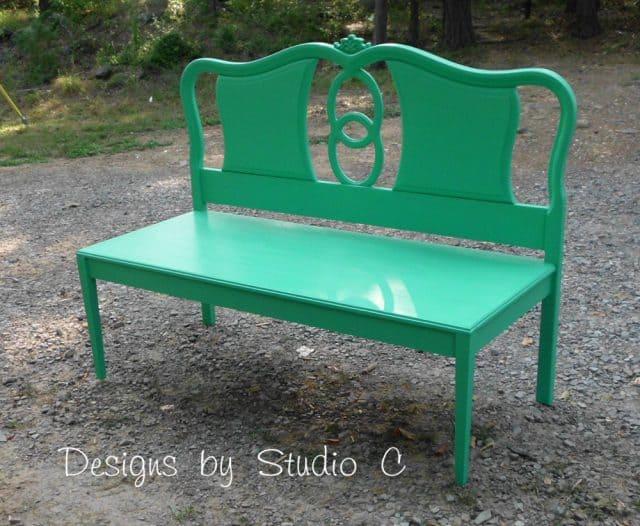 Green Bench Diy