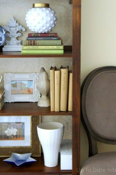 update your bookcase without paint