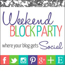 Weekend Block Party Blog Linkup