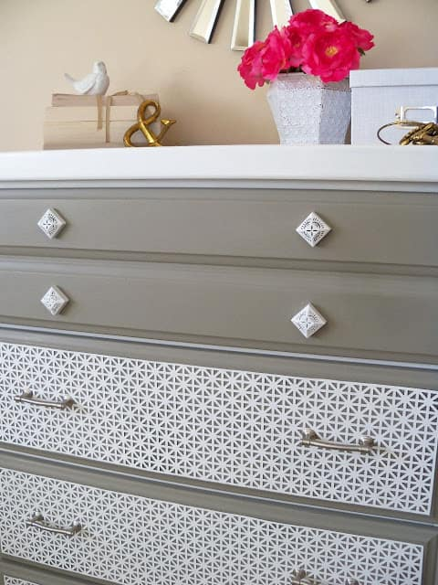 drawers closeup