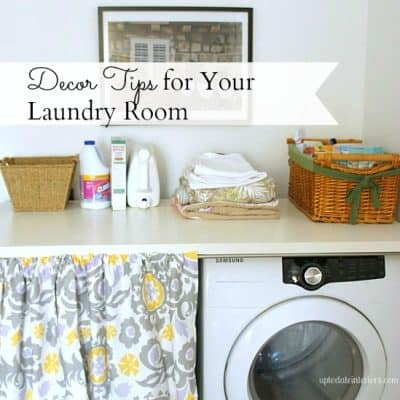 Love Your Space Challenge #17: Organize Your Laundry Room