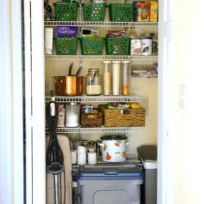 Love Your Space Challenge #13: Organize Your Pantry. Fast.