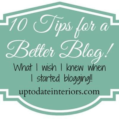 10 Tips for a Better Blog