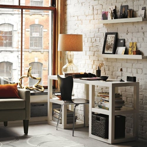 DESK 2x2 Console Desk from West Elm