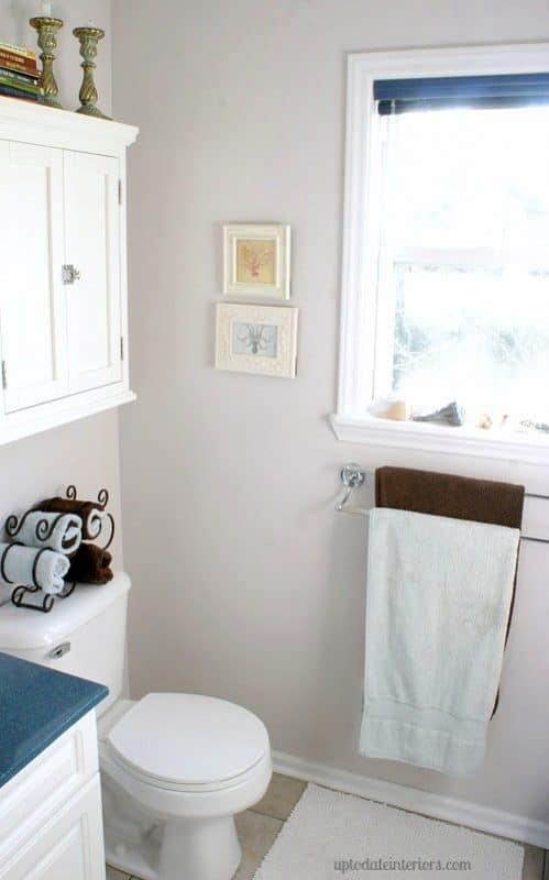 Home tour part 2 up to date interiors 39 master bedroom for Megan u bathroom tour