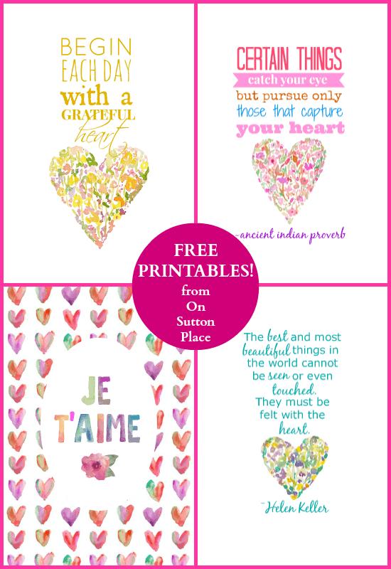 free-heart-theme-printables