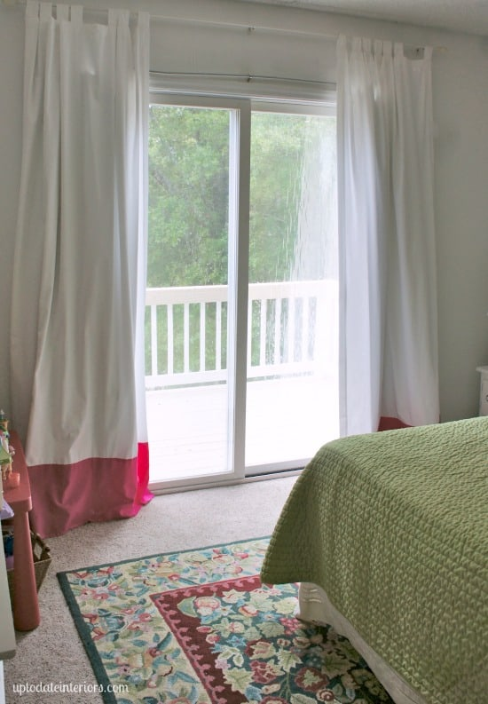 eclectic young girls room with renter friendly diys