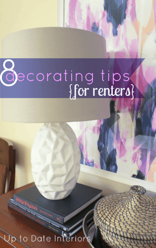 Eight Decorating Tips For Renters 640 Pinterest