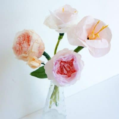 easy diy paper flowers