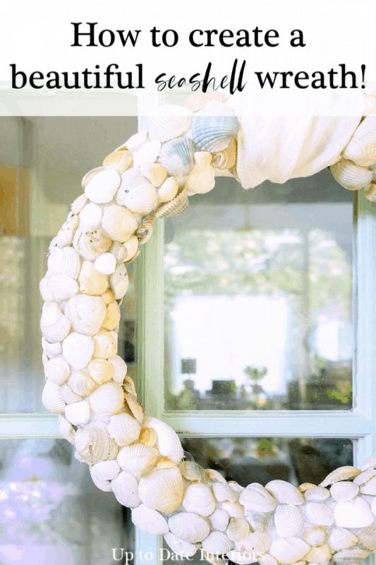 Diy Beach Wreath With Clam Shells Pinterest