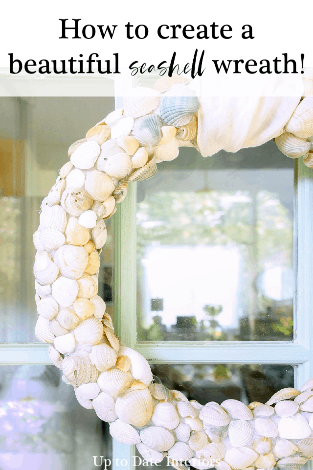Diy Beach Wreath With Clam Shells Pinterest