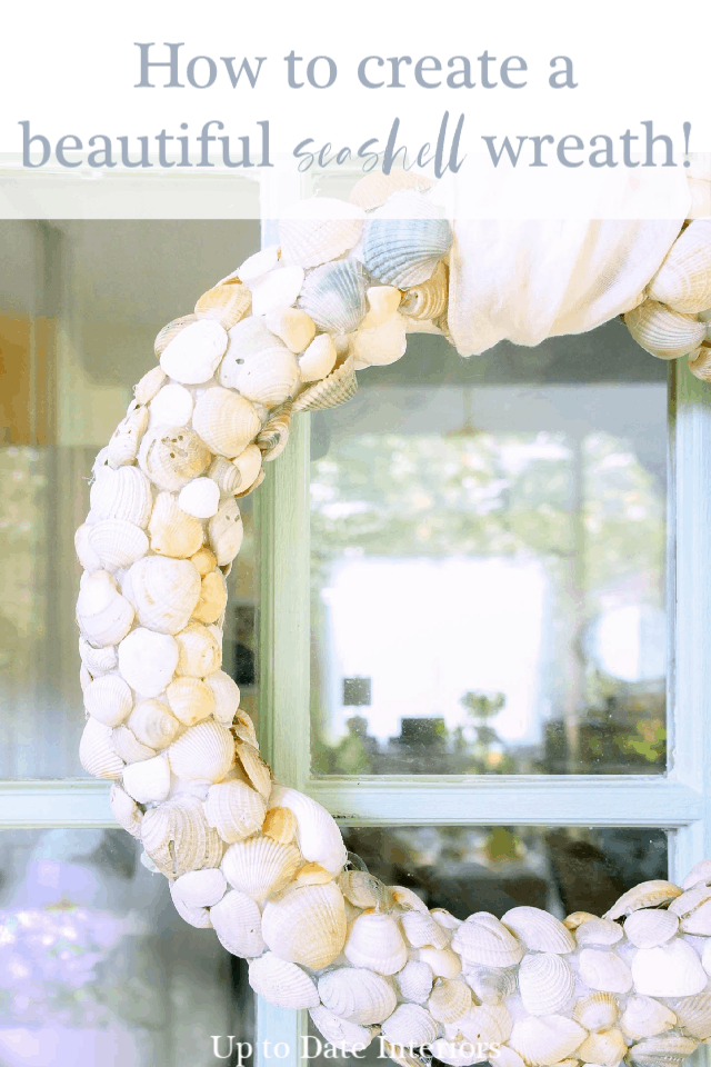 Seashell Wreath Beach Wreath Pinterest