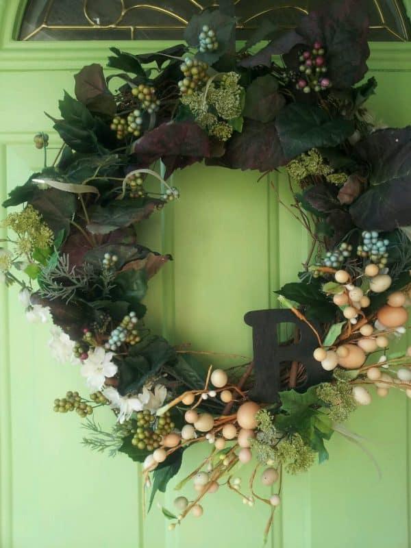 frontdoorwreathgreen