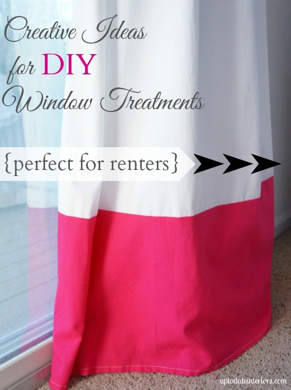 Window treatments for any budget!