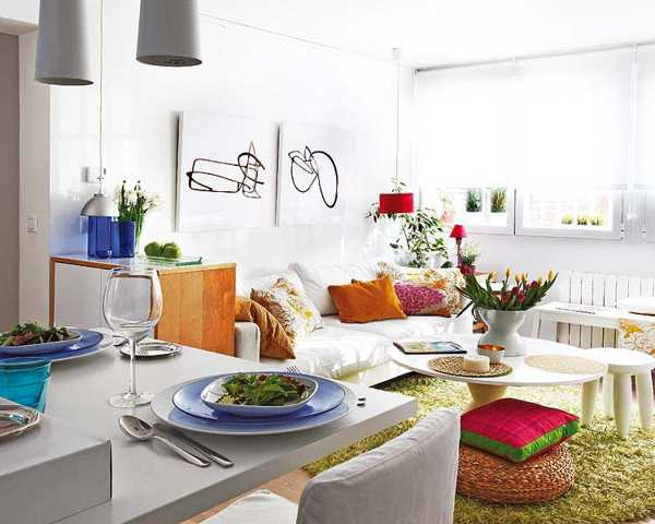 decorating-small-spaces-apartments-white-paint-1