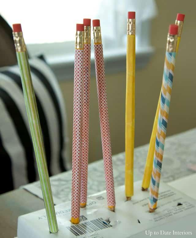 pencils-drying