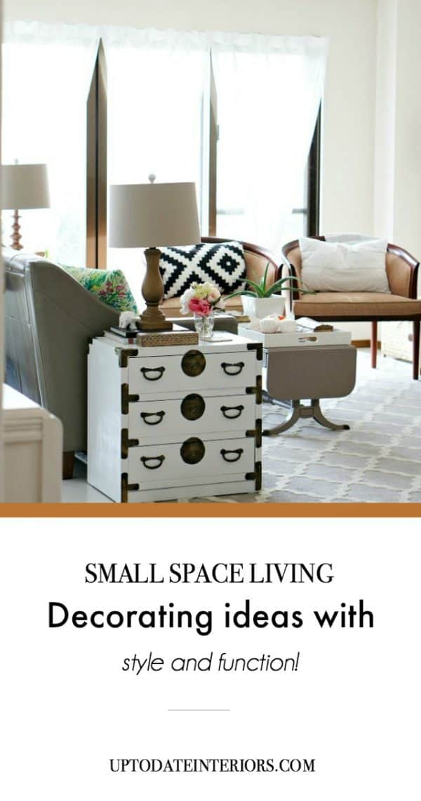small space living ideas with style and function