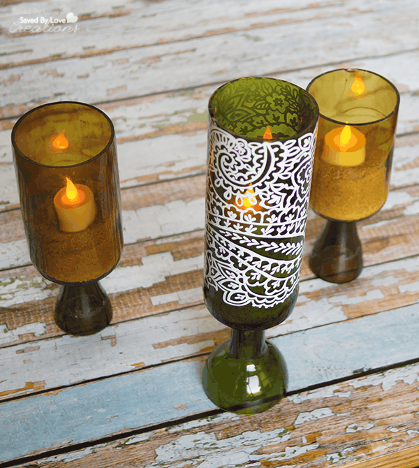 Recycled-Wine-Bottle-Candle-Holder-Tutorial-@savedbyloves