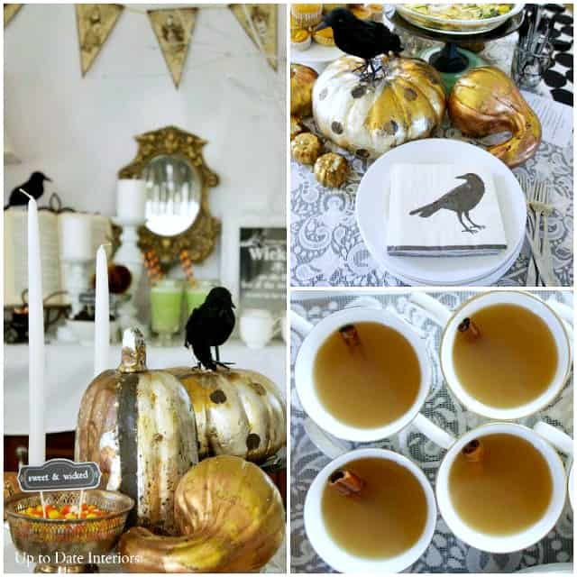 witches tea party decor