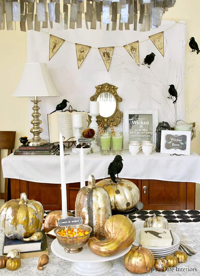 witches tea party decorating ideas and DIYS