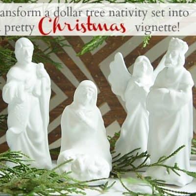 Updated Nativity Set
