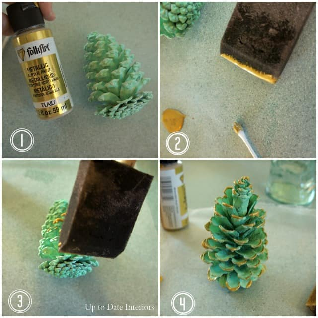 pinecones-gold