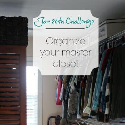 Love Your Space Challenge: Jan 20th