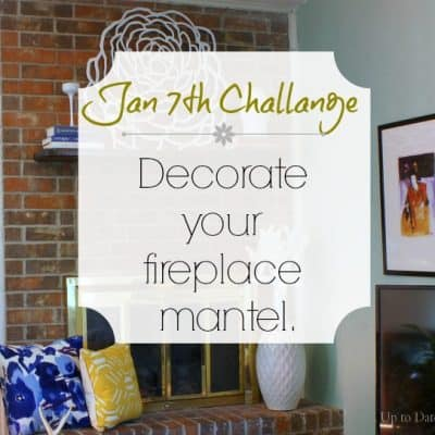 Love Your Space Challenge: Jan 7th