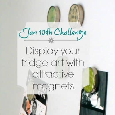Love Your Space Challenge: Jan 13th