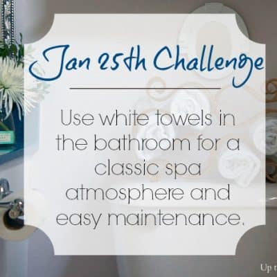 Love Your Space Challenge: Jan 25th