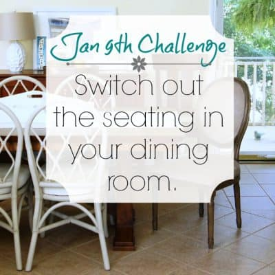 Love Your Space Challenge: Jan 9th
