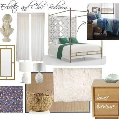 Eclectic and Chic Bedroom Inspiration