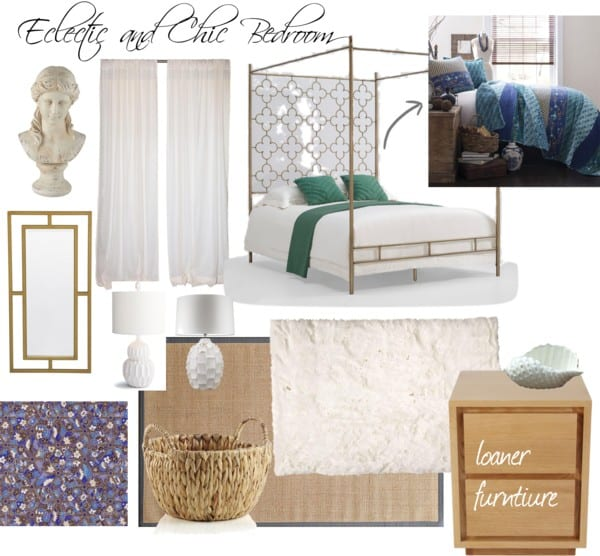 Eclectic and Chic Bedroom