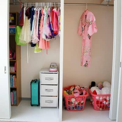 little girls closet organization tips and tricks