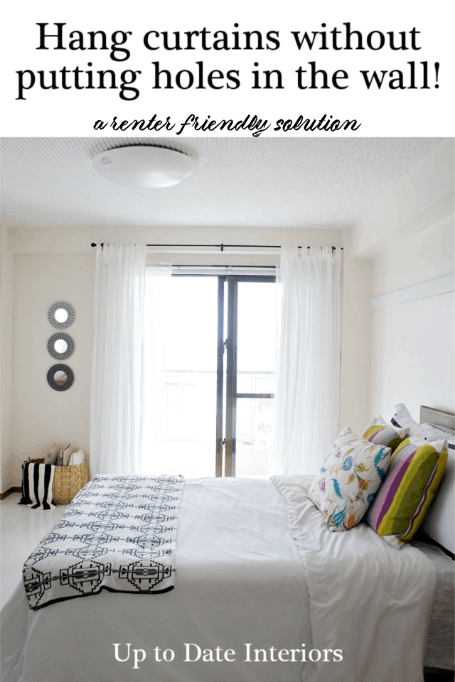 Curtains With No Holes Black Pinterest