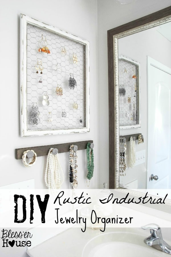rustic-industrial-diy-jewelry-organizer