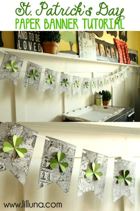 Cute-and-Easy-St.-Patricks-Day-Paper-Banner-Tutorial-on-lilluna.com-