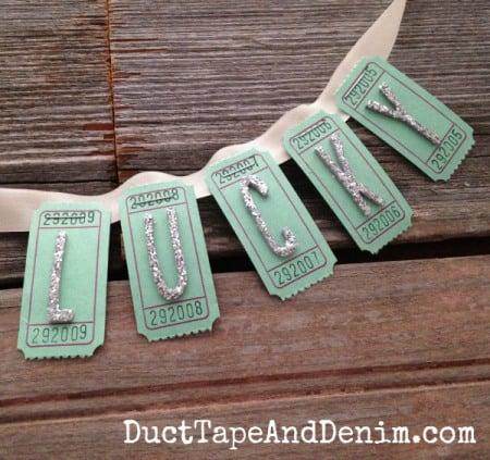 DIY-Lucky-ticket-St-Patricks-Day-garland-tutorial-DuctTapeAndDenim.com_